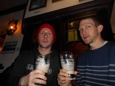 Lee and I in Harborne, Birmingham