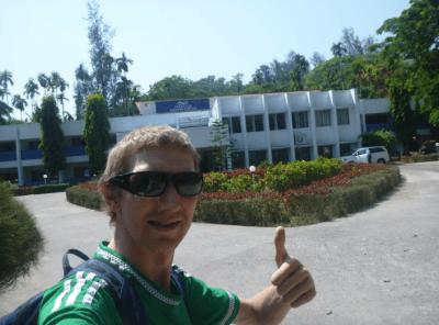 Jonny Blair at Peerless Sarovar Portico Andaman