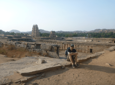 Another day in the life. Backpacking through the temples of Hampi, India.