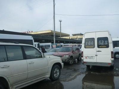West bus station, Bishkek, Kyrgyzstan