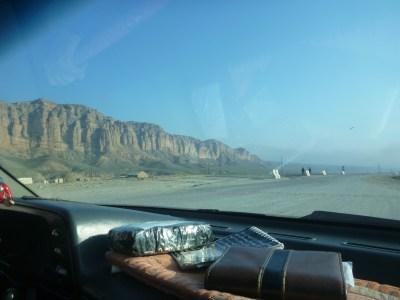 Karshi to Termiz winding roads