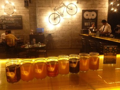 Beer and cider tasting in Mumbai, India