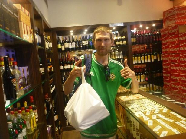 Thirsty Thursdays: Buying Alcohol at Grand Bugwati Hotel, Ahmedabad, India