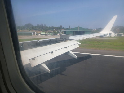 Touch down in Port Blair, Andaman Islands