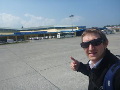 Arrival in Port Blair, Andaman Islands