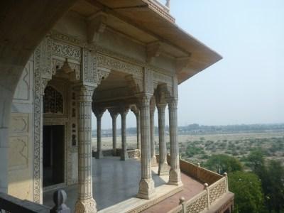 Shah Jahan's living quarters