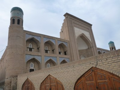 Whackpacking all alone in Khiva