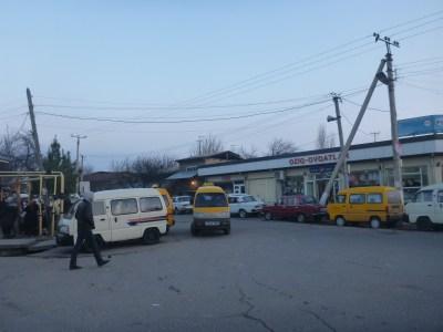 Chernayevka border exit point from Uzbekistan