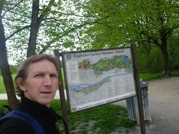 Touring English Garden in Munich