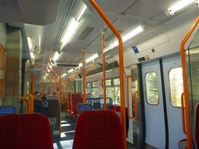 The second train, from Richmond to Twickenham