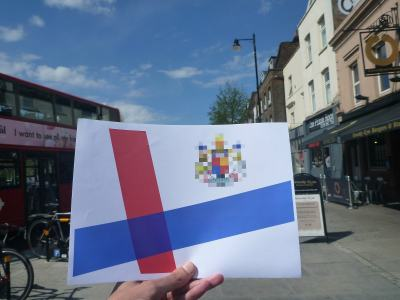 Kingdom of Lovely Flag in Bow, London