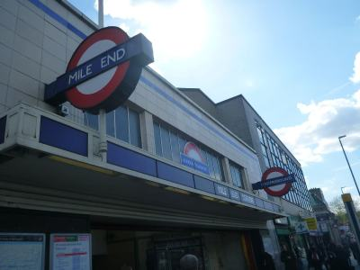 Mile End - next stop - The Kingdom of Lovely