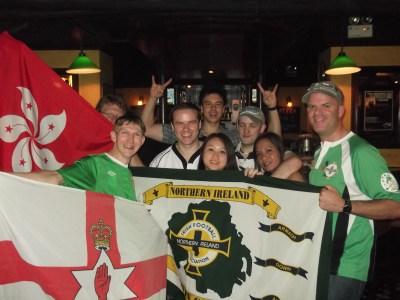 Hong Kong Northern Ireland Supporters Club, 2012