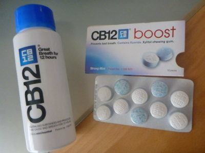 CB12 mouthwash and tablets