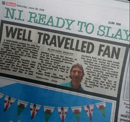 My feature in The Sun newspaper.