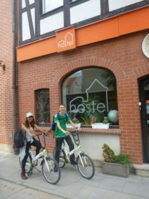 Cycling in Gdańsk with Mika on the Road and Hostel Cycle On