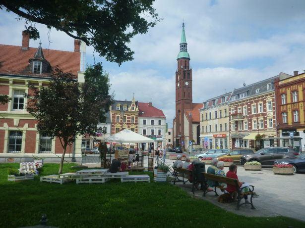 Backpacking in Poland: Starogard Gdański