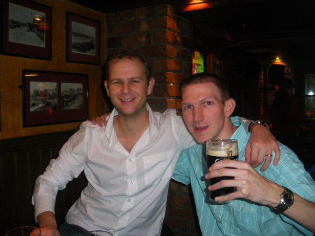 Stuarty Leathem and I