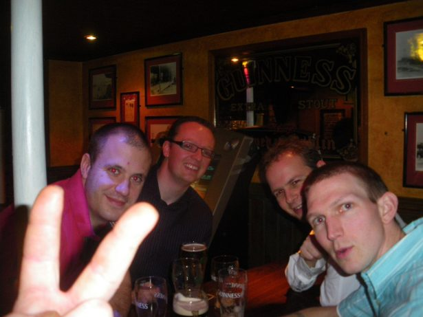 The lads down the Windsor