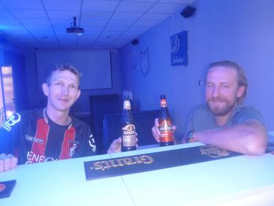 Drinks with Piotr in Tczew