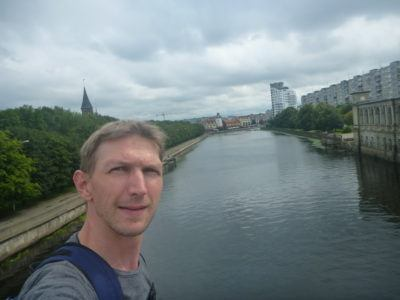 Backpacking in Kaliningrad - by Kant Island