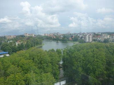 View of Kaliningrad from Ferris Wheel, Yunost Park