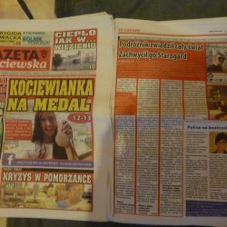 Working Wednesdays: My Feature in Gazeta Kociewska, Starogard Gdański, Poland