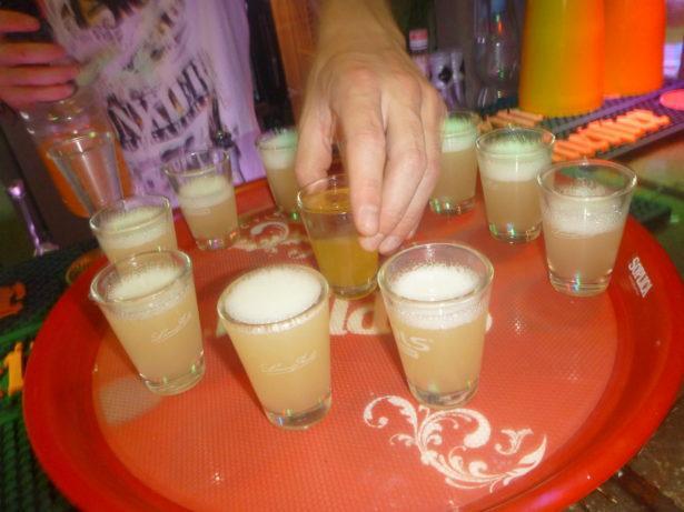 Shots in Bunkier Club