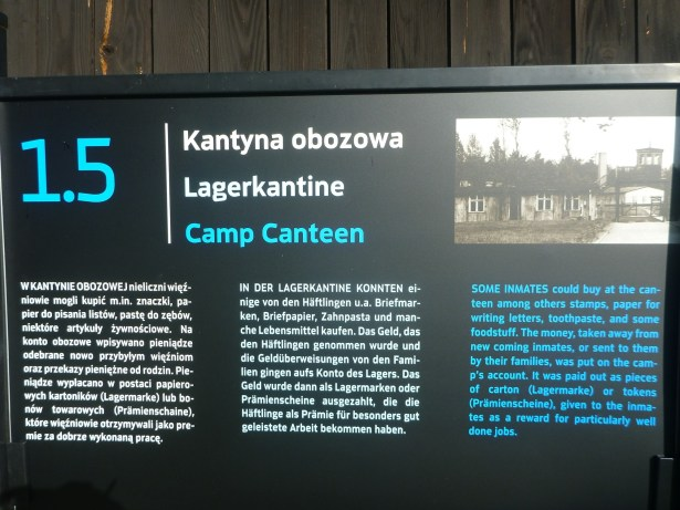 The camp canteen