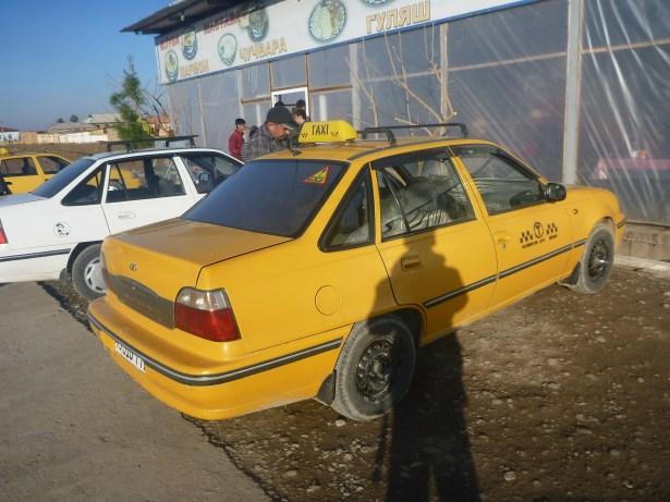 Parked in Guzor