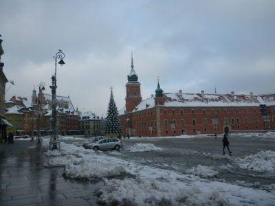 Gorgeous Warsaw in Winter, Poland