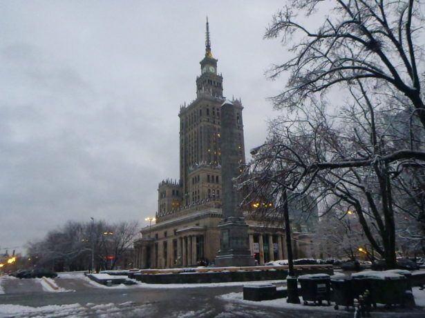 This, a present from Stalin's reign (Palace of Culture and Science)