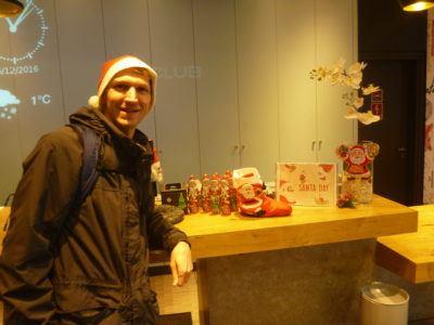 Santa Day at the Ibis Hotel, Warszawa Centrum, Poland