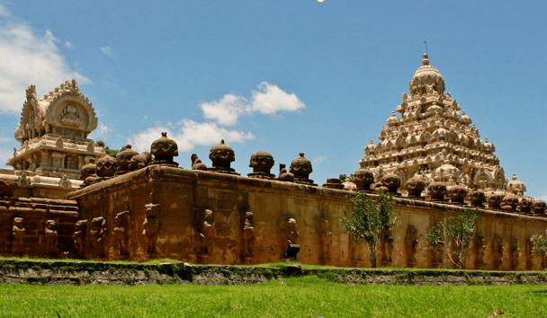 Backpacking in India: The Golden City of Kanchipuram