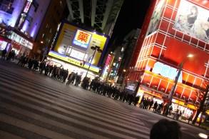 Akihabara crosswalk
