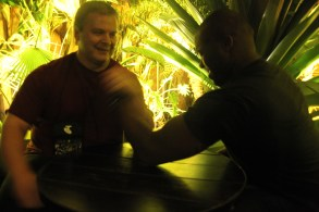 Me ARM wrestling MuscleNerd