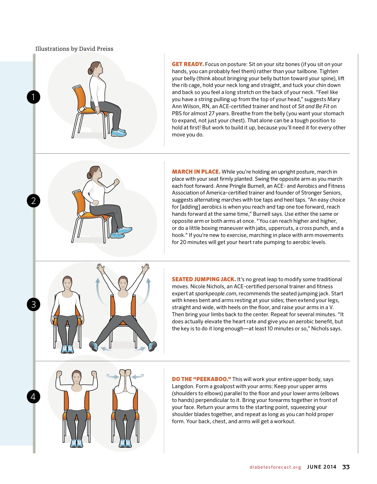 sitting down chair exercises gray accent don 39t sugarcoat diabetes  a program to prevent type ii
