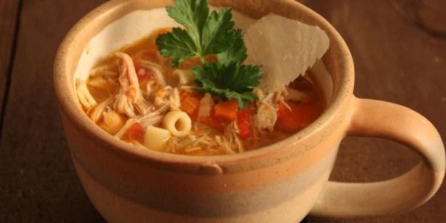 Sicilian Chicken Noodle Soup - Don't Sweat The Recipe