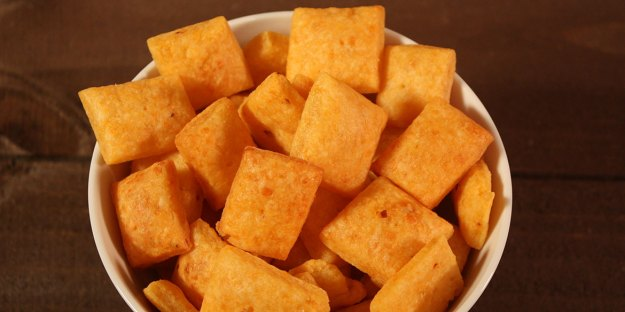 Spicy Cheese Crackers - Don't Sweat The Recipe