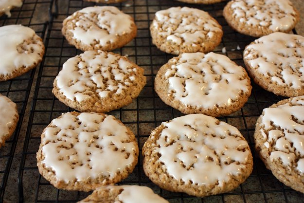 Iced Oatmeal Cookies - Don't Sweat The Recipe