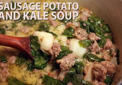 Sausage Potato and Kale Soup - Don't Sweat The Recipe