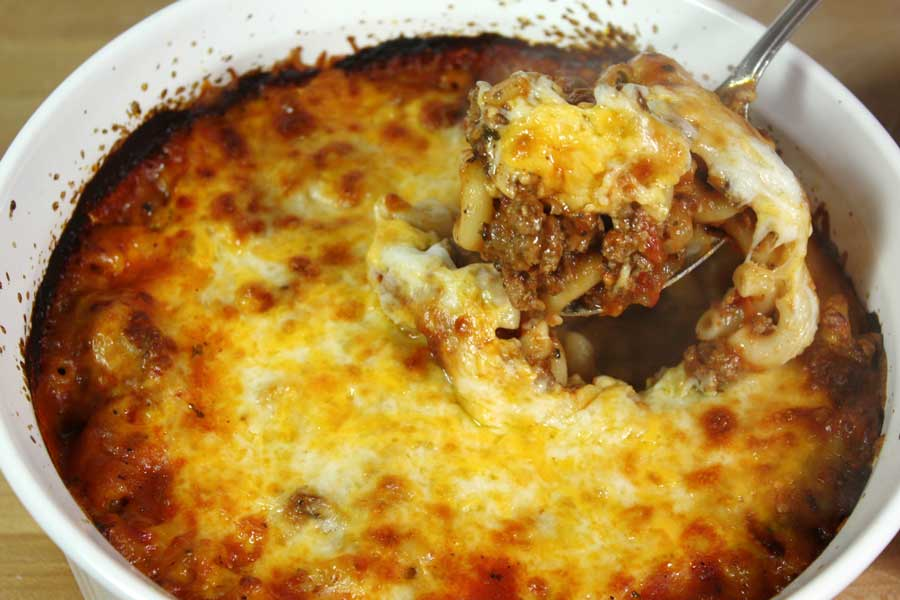 Cheesey Beefaroni - What's better than a cheesey pasta comfort dish. by Don't Sweat the Recipe