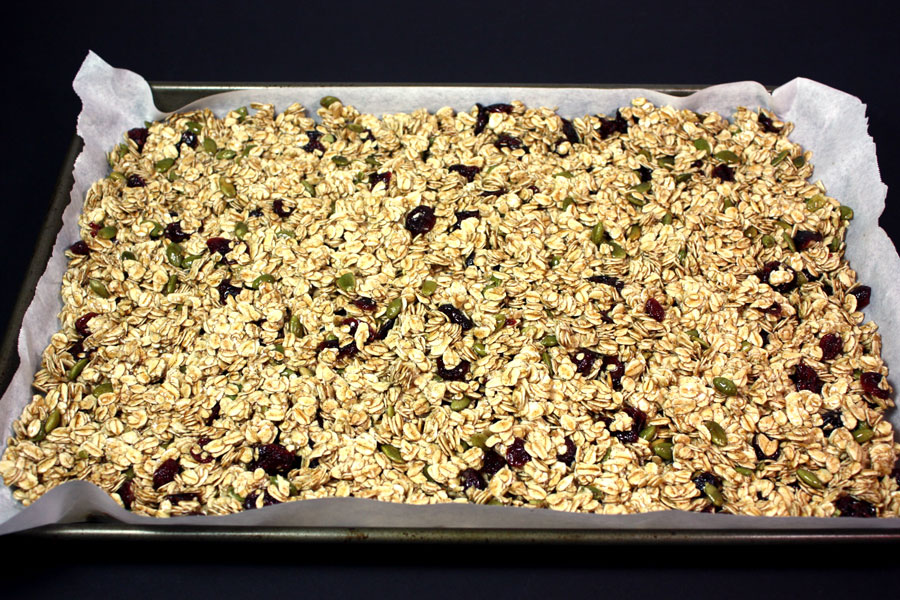 Large Cluster Granola - Don't pay those outrageous retail prices for granola. Make your own, it's sooo much better! by Don't Sweat The Recipe