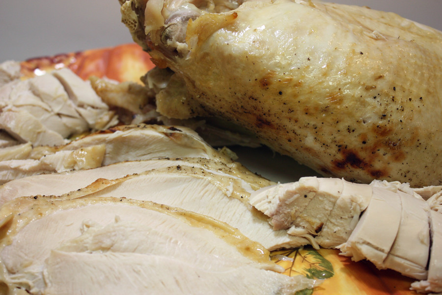 How to Brine a Turkey Breast - The most moist, tender and succulent turkey breast you will ever eat! by Don't Sweat The Recipe