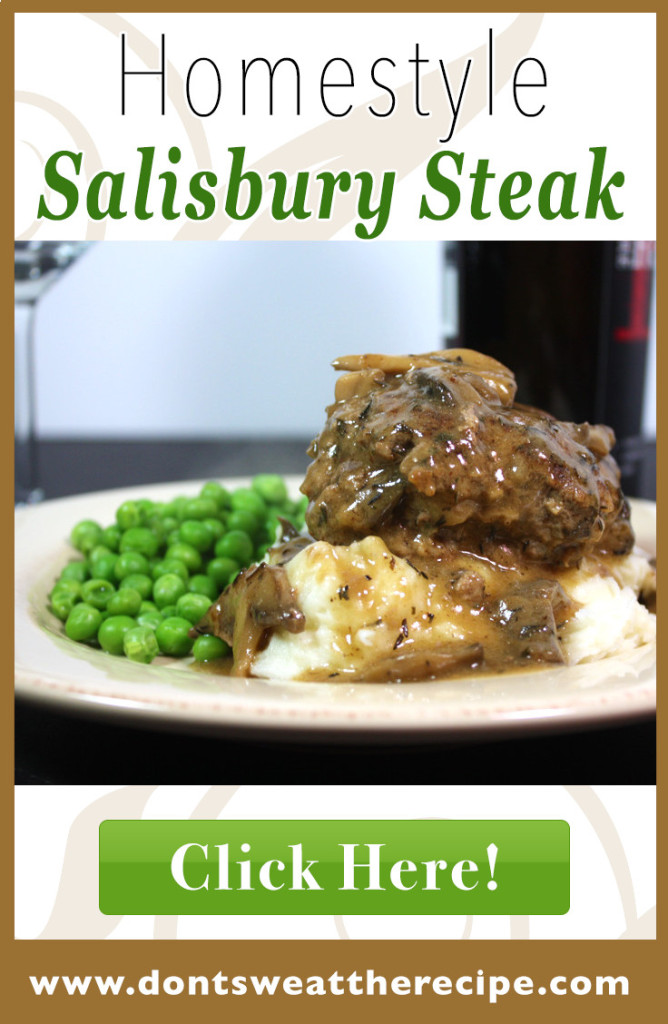 Salisbury Steak with Mushroom Gravy - Simple, hearty and delicious. Serve over mashed potatoes and everyone is happy!
