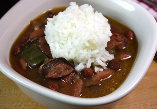 Slow Cooker Red Beans & Rice - Dinner almost prepares its self with this recipe. Full of Cajun flavor!