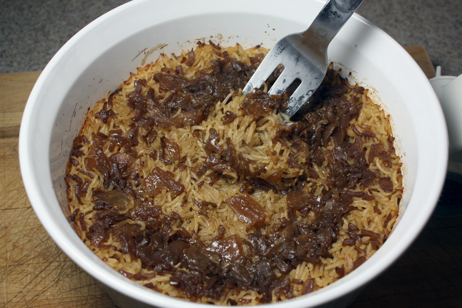 Basmati Rice Risotto - Buttery, flavorful, and easy side dish. Super tasty and goes with pork, chicken, or beef!