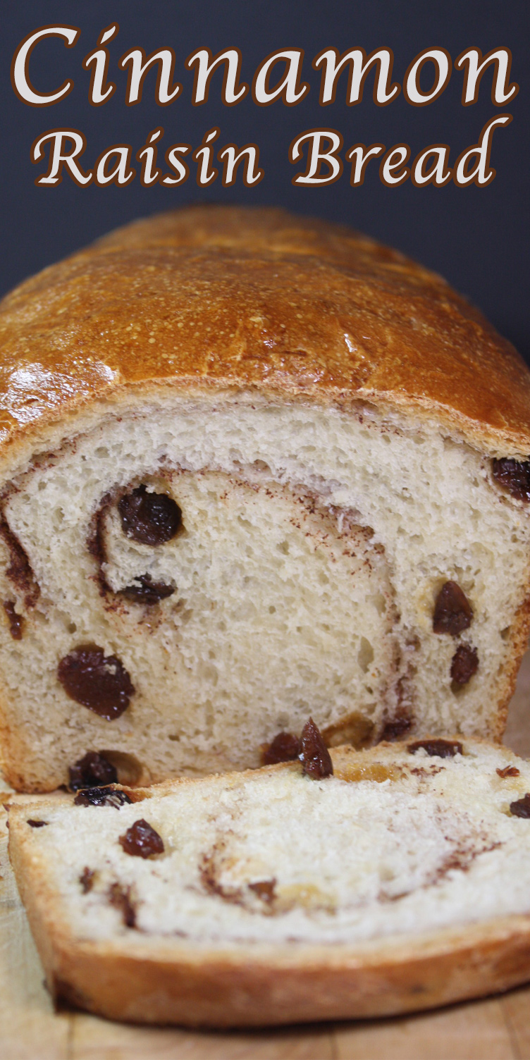 Cinnamon Raisin Bread - With this recipe in your arsenal you will ...
