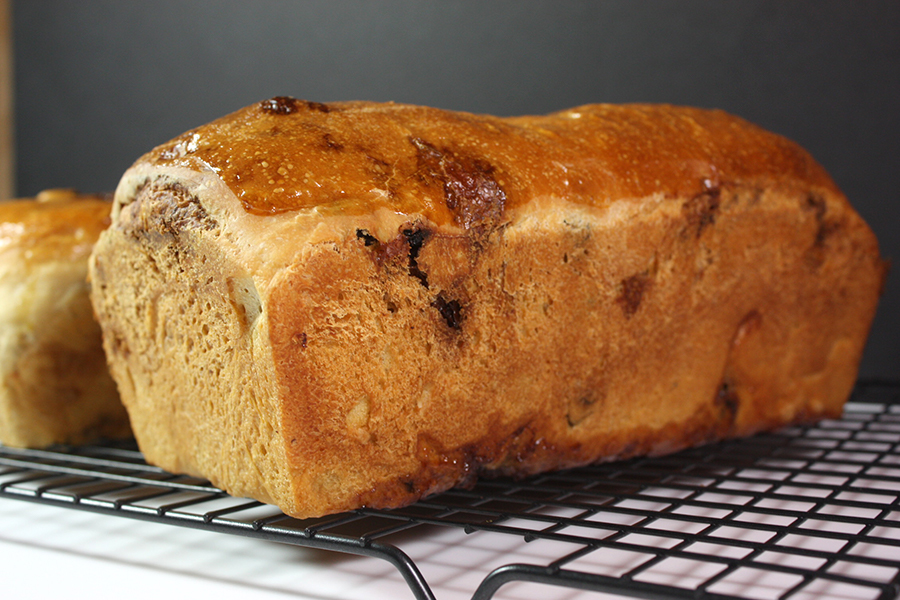 Cinnamon Raisin Bread - With this recipe in your arsenal you will never considering store bought bread again! It's perfect toasted and slathered with butter.