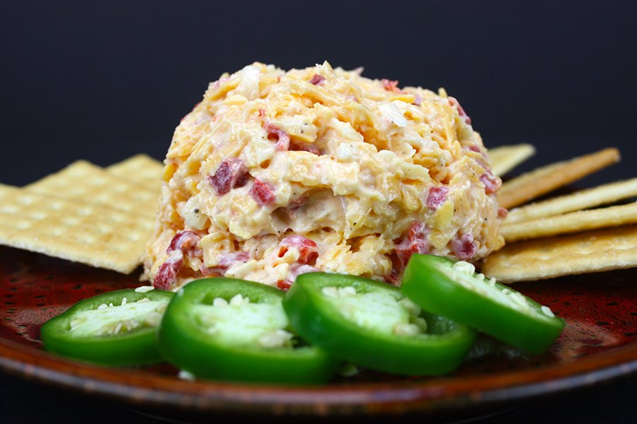 Homemade Pimento Cheese - This stuff is amazing! So easy to make and 100 times better than the prepacked stuff.